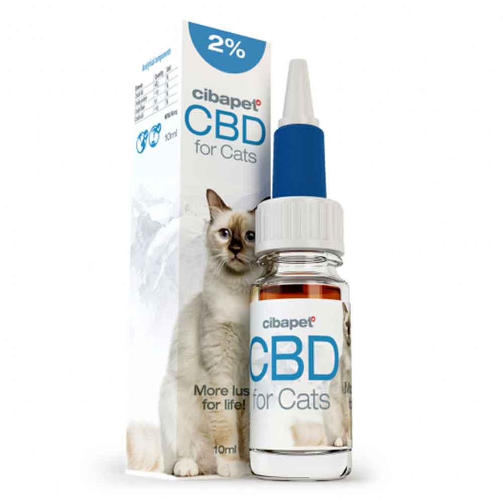 CBD Öl 2% für Katzen