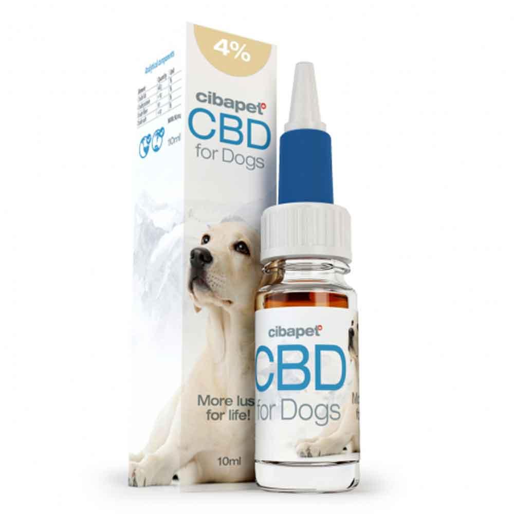 CBD Öl 4% für Hunde