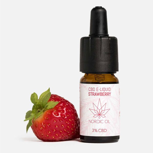CBD E-Liquid Erdbeere (3% CBD)